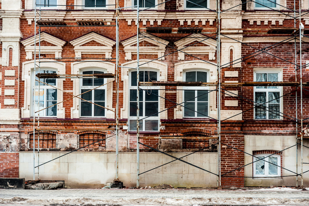 Exterior Building Restoration
