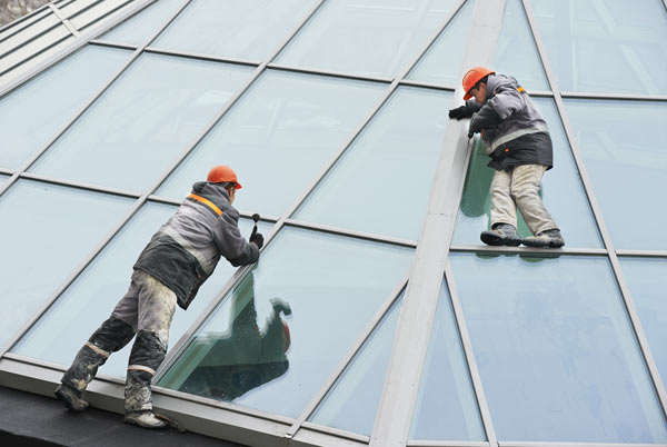 Commercial Window  Caulking